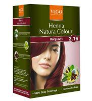 VLCC Henna Natura Color Burgundy