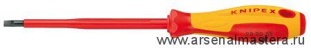 Отвертка для винтов с шлицевой головкой KNIPEX 98 20 40