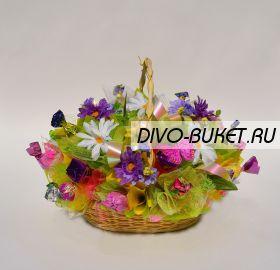"""Букет из конфет №265 """"Краски лета"""""""