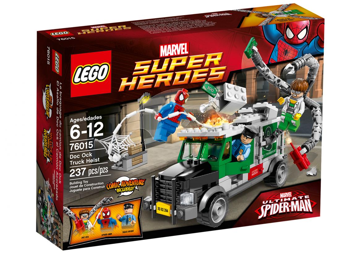 76015 Человек-паук: Ограбление броневика Доктором Осьминогом Конструктор ЛЕГО Супергерои