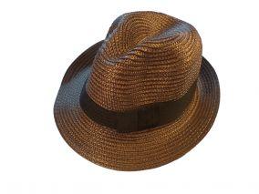 Шляпа коричневая летная унисекс