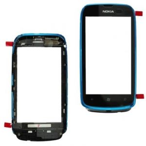 Тачскрин Nokia 610 Lumia (в раме) (blue)