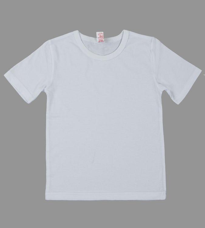 a5c04f6af5d53 Белая футболка для спортивных занятий для мальчика или для девочки ...