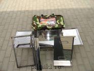 Мангал-коптильня 60*30*20 см из стали AISI 430 2,0 мм