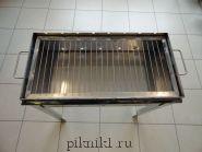 Мангал разборный 50*30*15 см из стали AISI 430 2,0 мм