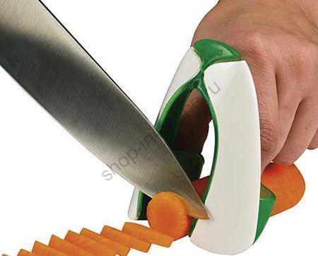 Устройство для безопасной нарезки овощей и фруктов Safe Slice
