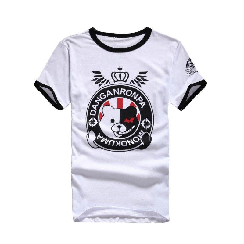 "Аниме футболка ""Dangan Ronpa: Monokuma"""