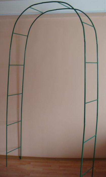 Арка разборная простая (лесенка) 1,95*0,35 дуга d 1.25, мет. эмаль