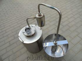 Дистиллятор дачный (деревенский) 30л. + сухопарник