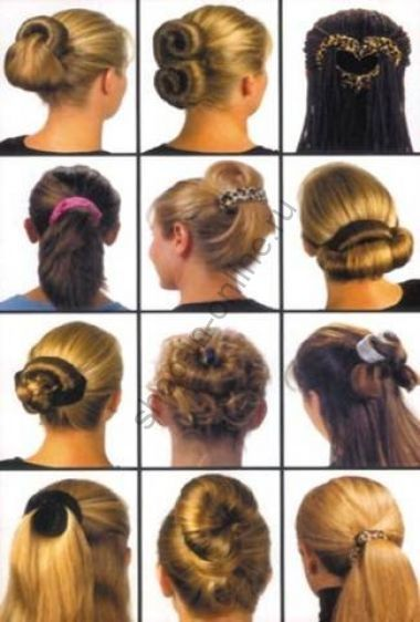 Заколки для волос в наборе Hairagami