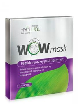 HYALUAL WOW mask гидрогелевая пептидная маска (5 шт.)