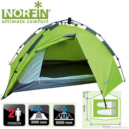 Купить Палатка автоматическая 2-х местная Norfin ZOPE 2 NF-10401