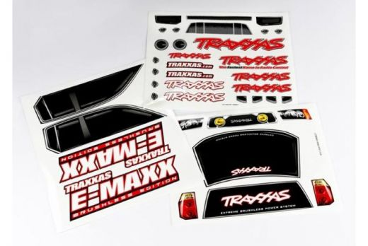 3916    DECAL SHEETS, E-MAXX BRUSHLESS - TRA3916