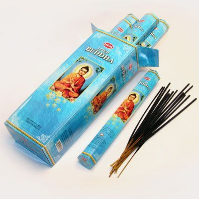 Ароматические палочки благовония HEM Hexa LORD BUDDHA Господь Будда