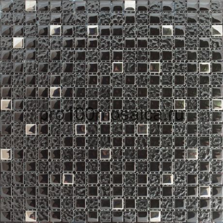 Antracit. Мозаика серия GLASS,  размер, мм: 300*300 (ORRO Mosaic)