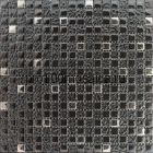 Antracit. Мозаика серия GLASS, вид MIX (СМЕСИ),  размер, мм: 300*300 (ORRO Mosaic)