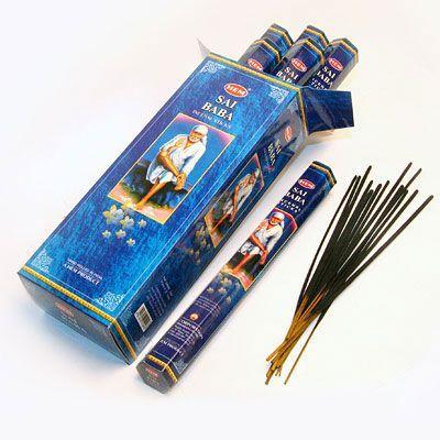 Ароматические палочки благовония HEM Hexa SAI BABA Саи Баба
