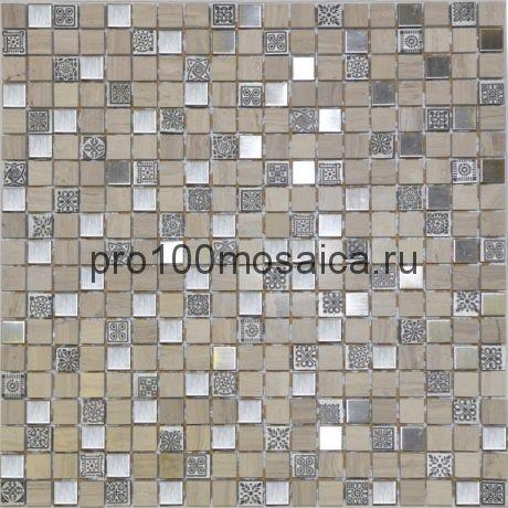 Metall Talisman. Мозаика серия GLASSTONE,  размер, мм: 310*310 (ORRO Mosaic)