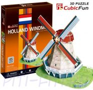 CubicFun. 3D пазлы. Голландская мельница