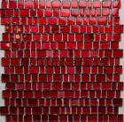 Efes Red. Мозаика серия GLASS, вид MIX (СМЕСИ),  размер, мм: 309*309 (ORRO Mosaic)