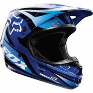 Мотошлем Fox Racing V1 Race Helmet ECE blue