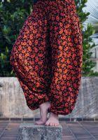 Женские штаны алладины, пейсли (турецкие огурцы)