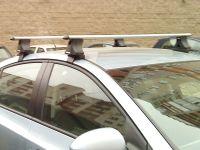 Багажник на крышу Chevrolet Cruze, Атлант, аэродинамические дуги.