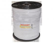 Коаксиальный кабель RG-6.75 Om.305m.Цвет-Белый.Rexant