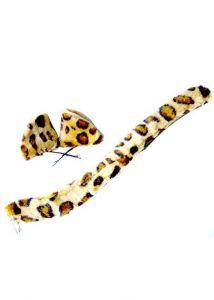 Ушки и хвостик леопард