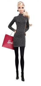 Кукла Барби Grey Dress, серия Городская модница, BARBIE