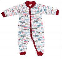 Р4113960 детская одежда Кука-Вака комбинезон ясельный для новорожденного Свитанак