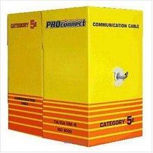 Кабель UTP 4PR 24AWG CAT5e 305м PROCONNECT