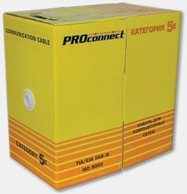 Кабель FTP 4PR 24AWG CAT5e 305м PROCONNECT
