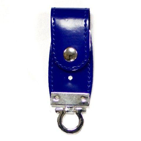 64GB USB-флэш накопитель Apexto U503C гладкая синяя кожа OEM