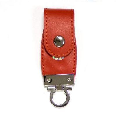 8GB USB-флэш накопитель Apexto U503C гладкая красная кожа OEM
