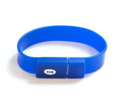 4GB USB-флэш накопитель Apexto U601A браслет синий