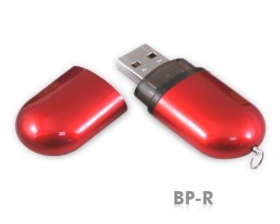 8GB USB-флэш-накопитель Supertalent BP-R красный глянец