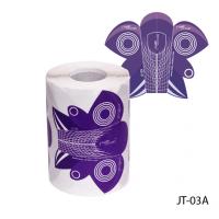 Универсальные одноразовые формы (бумажные, на клейкой основе) JT-03А, 200 штук