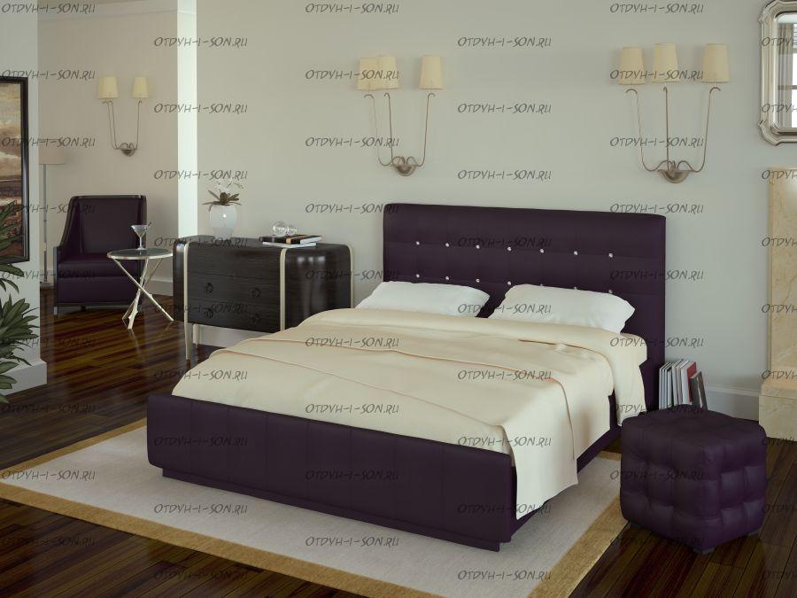 Кровать Лорена с подъемным механизмом и ящиком для белья