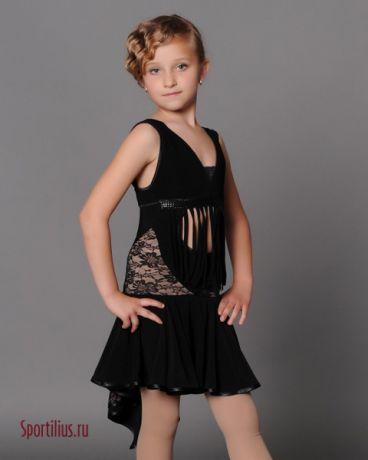 """Платье для девочек, латина """"Асмантус"""""""