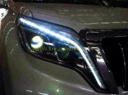 Передняя альтернативная оптика  (Тип 1) для Toyota Land Cruiser Prado 2013-
