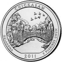 25 центов США 2011 Рекреационная зона Чикасо