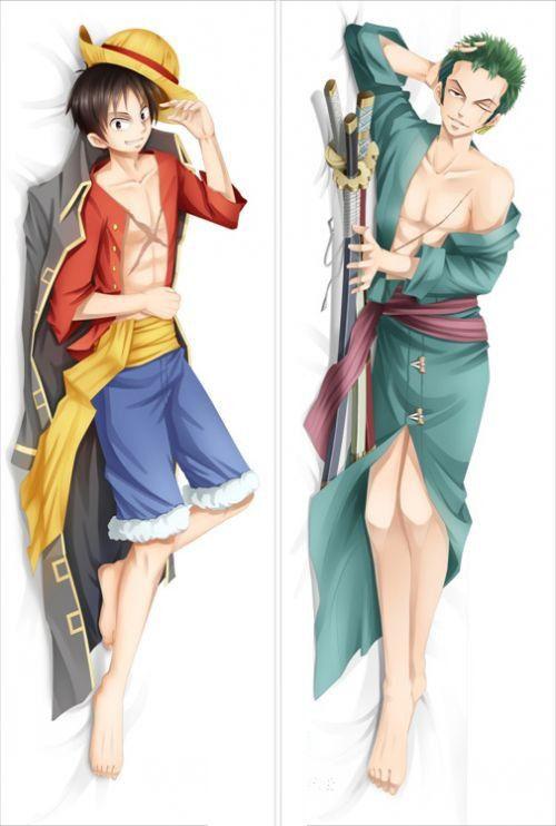 Дакимакура One Piece: Luffy and Zoro