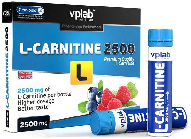 L-Carnitine 2500 (7 х 25 мл.)