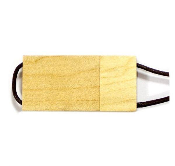 4GB USB-флэш накопитель Apexto UW-0020 деревянная, сосна