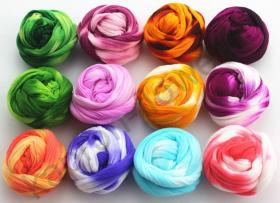Набор двухцветного капрона 12 цветов