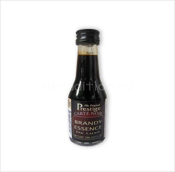 "Carte Noir Brandy, 20 мл (Black Lable)  (эссенция для самогона ""Бренди Карт Нуар"")"