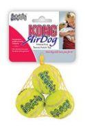 """KONG Air игрушка для собак """"Теннисный мяч"""" маленький (5 см, 3 шт. в уп.)"""