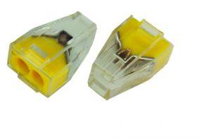 Электромонтажные экспресс-клеммы 773-322 (2*2.5мм²) REXANT