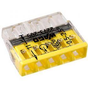 2273-245 Электромонтажные экспресс-клеммы (5*2.5мм2 с пастой) 100шт WAGO